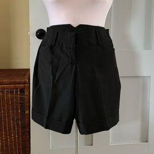 TRACY EVANS CUFFED DRESS SHORTS